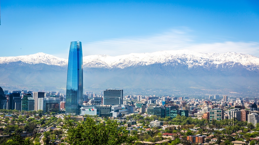 Santiago city in Chile