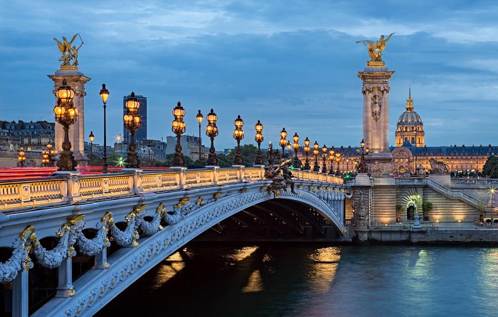 The Most Beautiful Bridge of Paris.