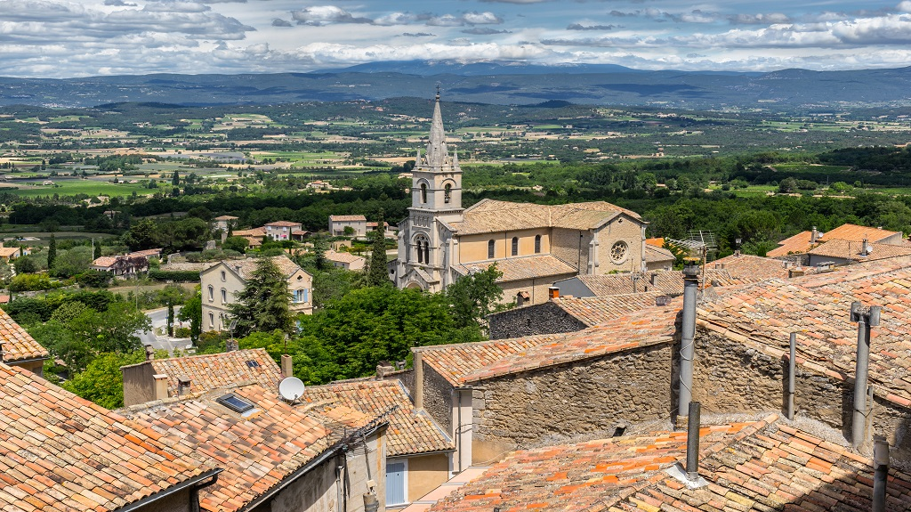 Bonnieux in the Luberon Provence